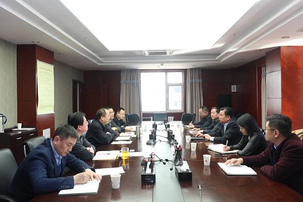 邮储银行甘肃省分行行长银青志一行拜访甘肃省科学技术厅