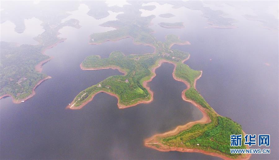 (图文互动)(1)臭水变清水催生一批生态产业——重庆最大人工湖的绿色蝶变