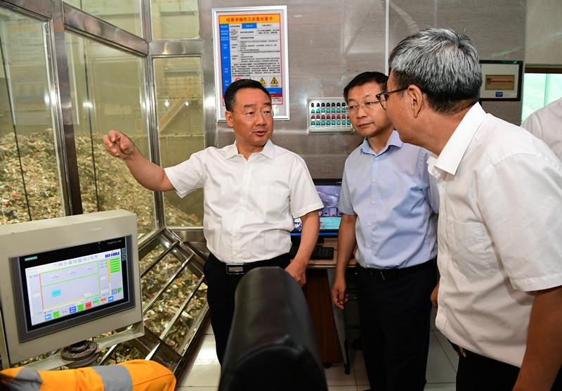 唐仁健调研中央环保督察交办环境信访问题整改工作