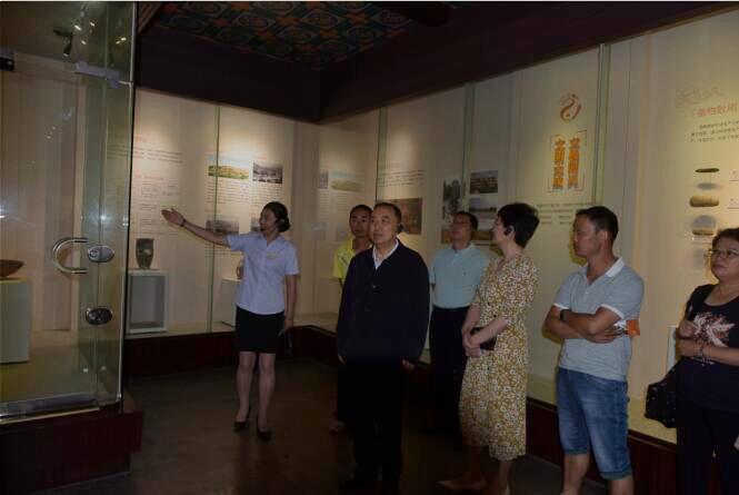 国务院参事室调研天水市博物馆文化旅游产业发展情况