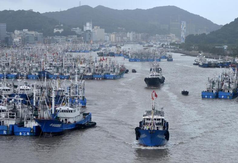 """超强台风""""利奇马""""将于10日登陆浙江"""
