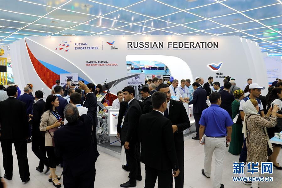 (国际)(2)土库曼斯坦举行里海创新技术展和国际汽车展