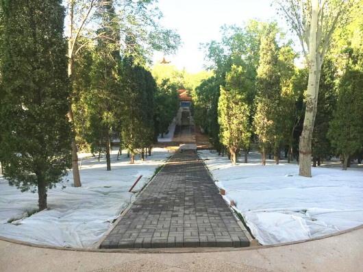 白银市长通公园升级改造(图)