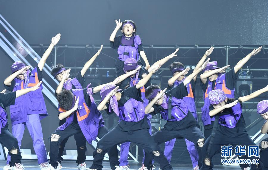 """(文化)(1)首届""""中国街舞盛典""""在郑州举办"""