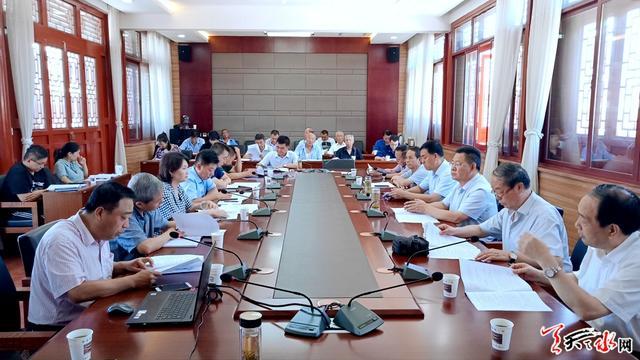 天水市召开2019年秋祭伏羲典礼协调会