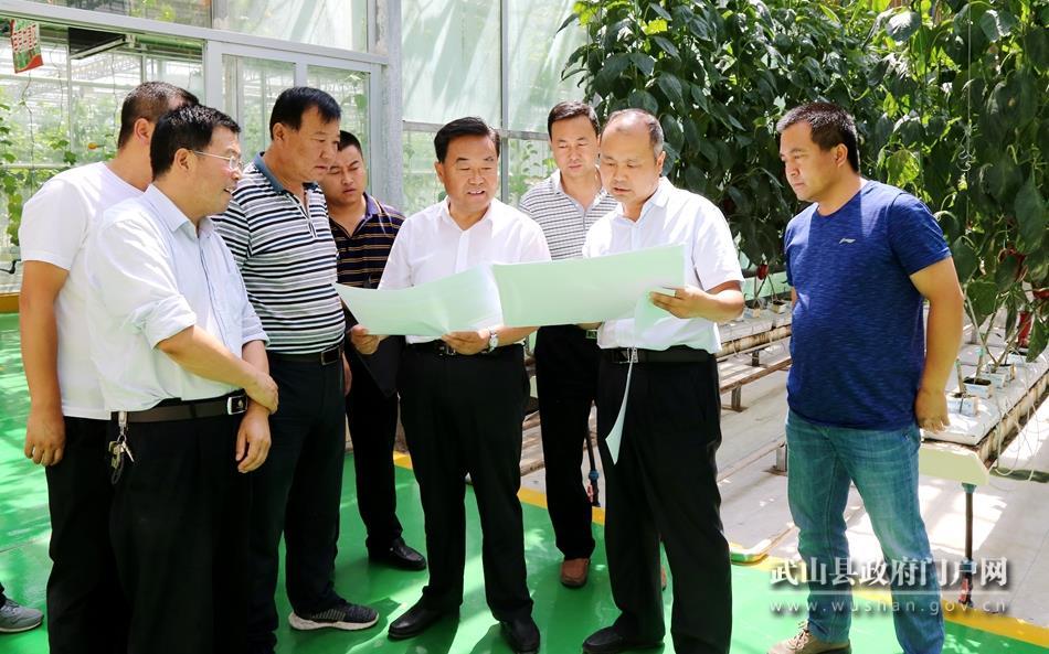 索鸿宾督查2019天水·武山蔬菜博览会暨特色农产品产销对接会筹备工作