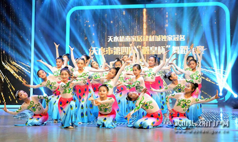 武山在全市舞蹈大赛中取得优秀成绩