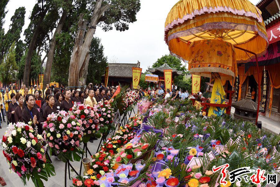己亥(2019)年秋祭伏羲典礼在天水伏羲庙举行
