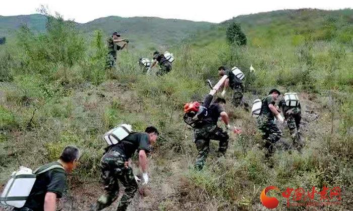 甘肃博峪河保护局举办护林员体能技能竞赛(图)