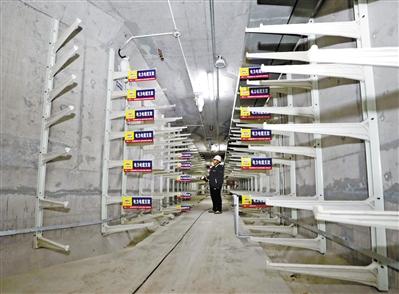 """兰州""""时尚大片"""" 马滩地下综合管廊揭面"""