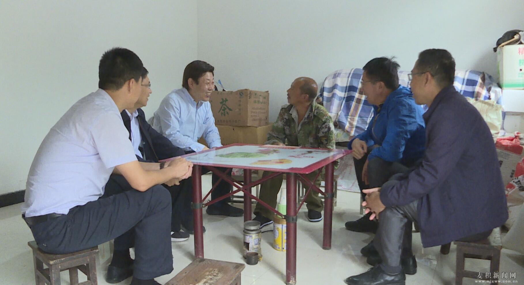 天津市委组织部来麦积区考察调研并开展结对认亲活动