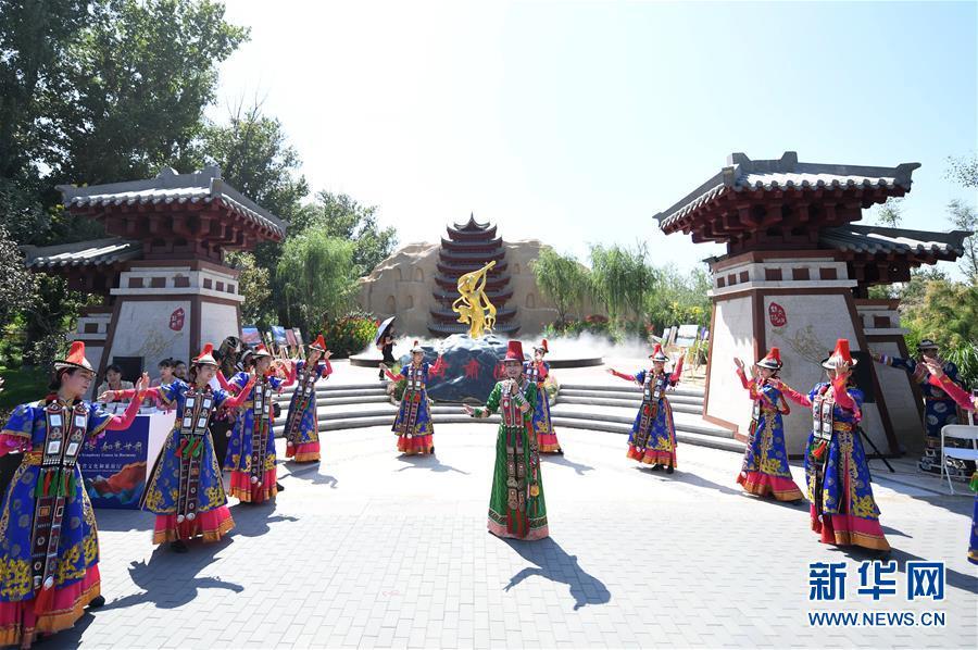 """(北京世园会)(3)北京世园会迎来""""甘肃日"""""""