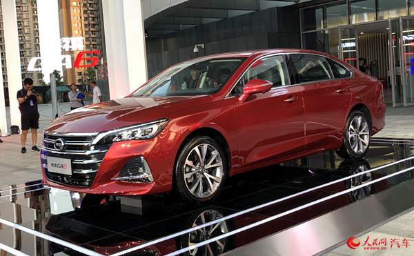 广汽传祺全新GA6正式上市 抢占中高级轿车市场