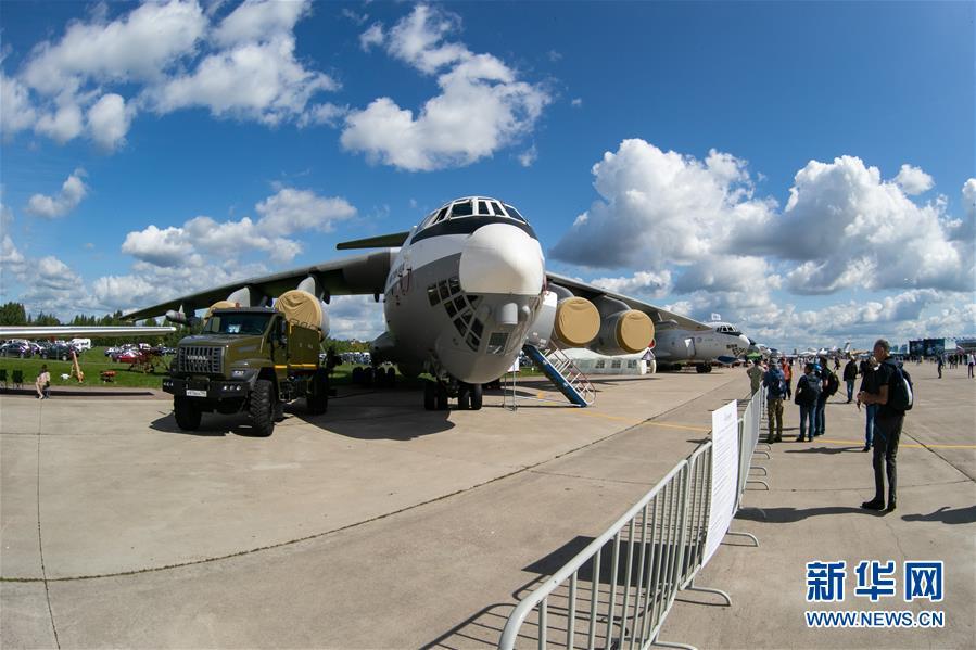 (国际)(4)第14届莫斯科航展开幕