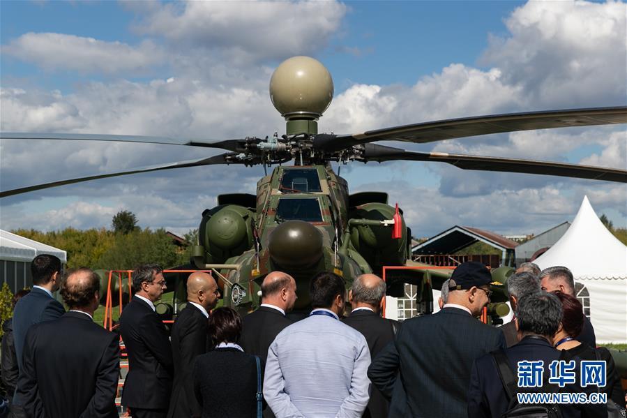 (国际)(6)第14届莫斯科航展开幕