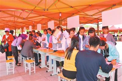 临夏州职业技术学校新生入学报到工作启动