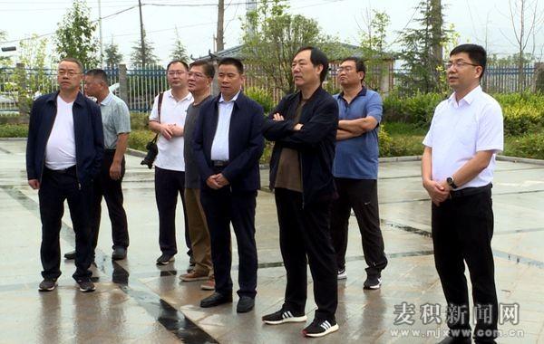 山东省东营市人大常委会调研麦积区乡村振兴战略工作