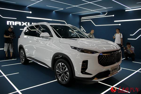 上汽MAXUS公布新能源车型计划 D60正式上市