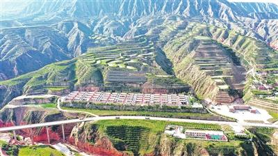 临夏州:布楞沟山乡变了样
