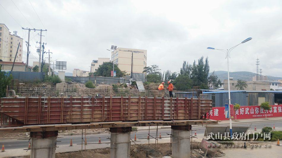 洛门渭河大桥改建工程实施顺利