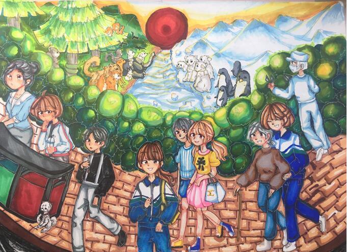 兰州市第二届青少年社会主义核心价值观主题动漫设计大赛作品征集火热进行中(组图)