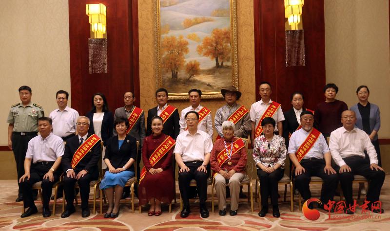 孙伟会见甘肃省第七届全国道德模范和提名奖获得者代表