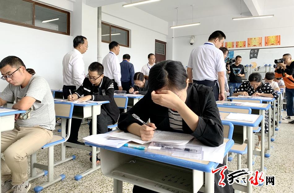 天水市9311人参加2019年度考试录用公务员笔试