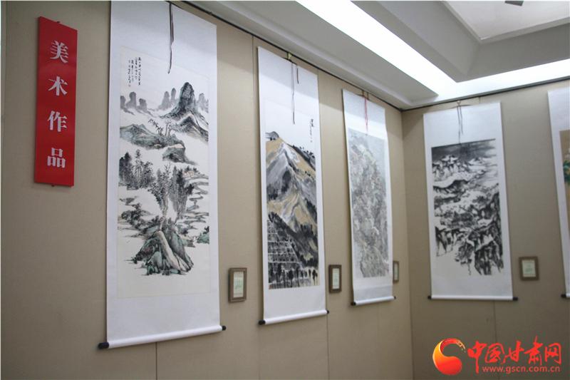 喜庆丰收 献礼国庆 兰州市书法美术摄影邀请展开幕(图)