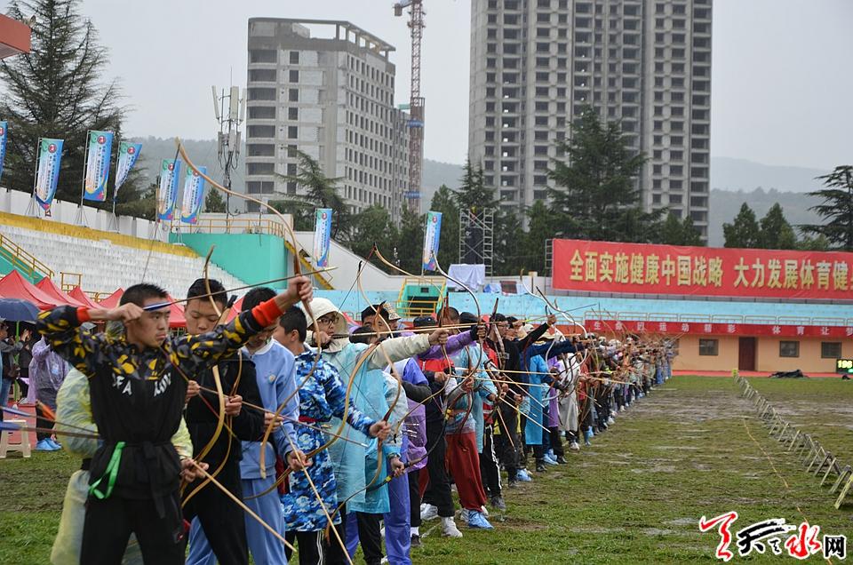 """第五届""""李广杯""""国际传统射箭锦标赛精彩花絮"""