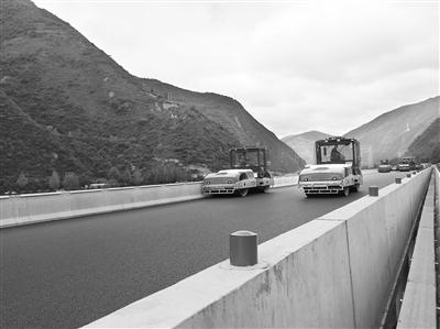 渭武高速陇南段有望下月底建成通车