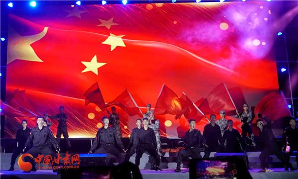 向祖国告白 甘肃政法大学2019级迎新晚会唱响《我爱你中国》