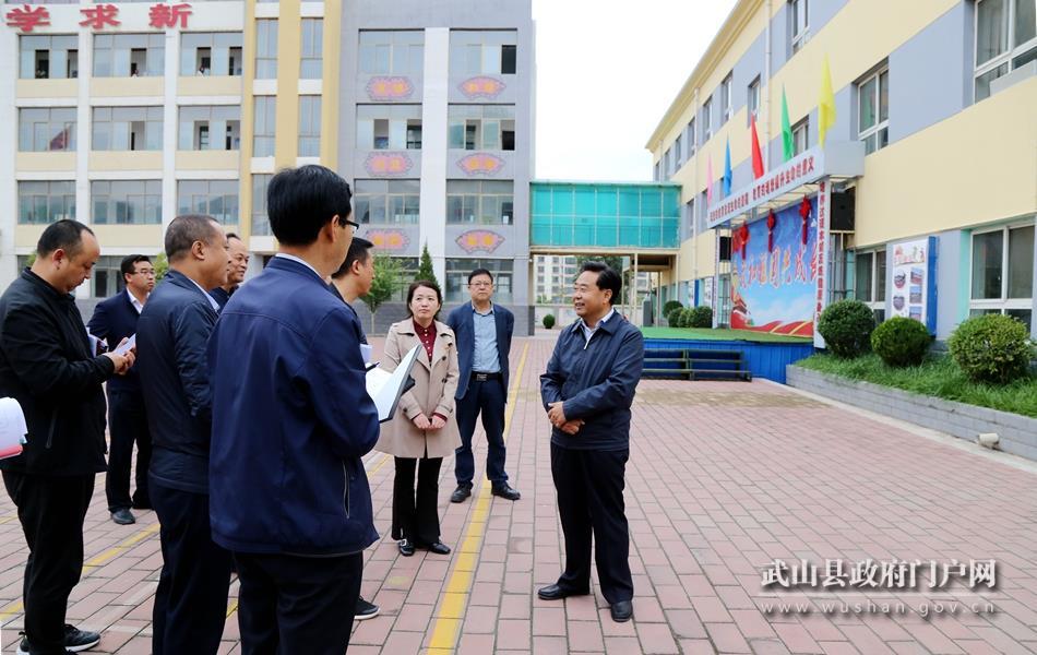 索鸿宾督查庆祝中华人民共和国成立70周年宣传氛围营造等工作
