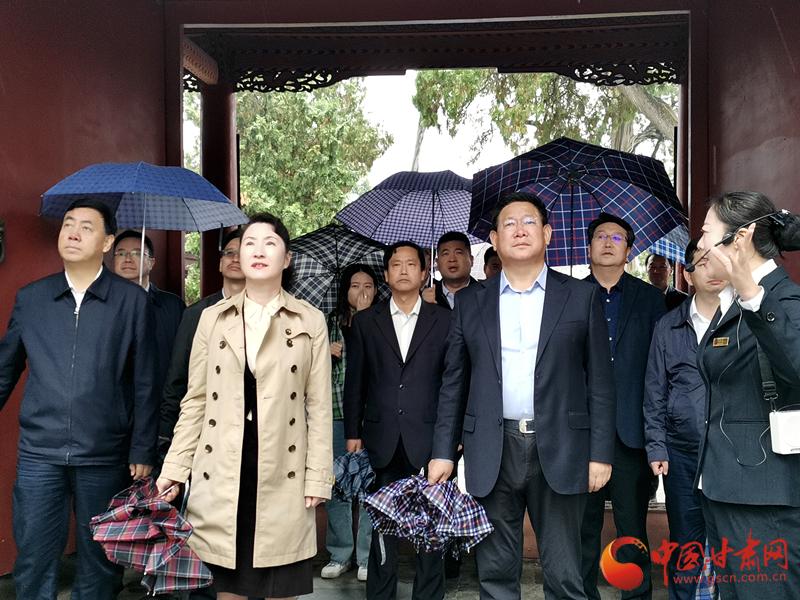 甘肃省委宣传部副部长、省委网信