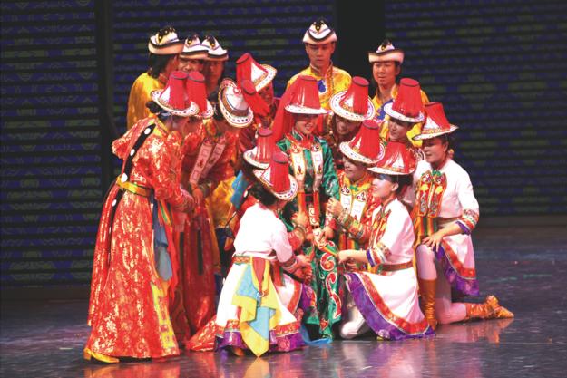 演出预告丨大型音舞诗画《裕固族姑娘就是我》今晚亮相黄河剧院