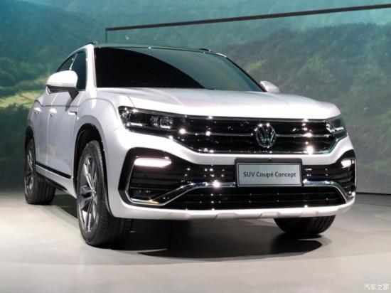 一汽-大众SUV Coupe谍照
