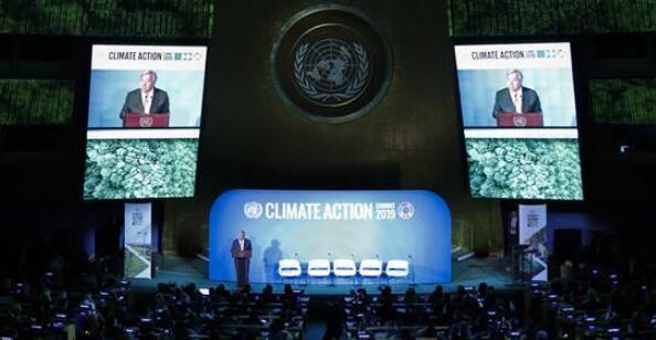 古特雷斯呼吁各国采取具体行动应对气候变化