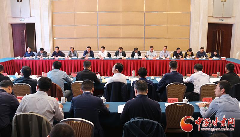 甘肃省召开中央单位定点扶贫经验交流暨工作推进会(图)