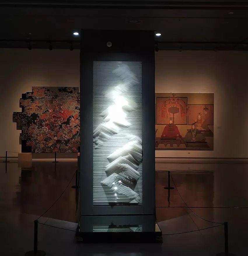 实验互动装置壁画《易·山》亮相第十三届葡京官网美展壁画展