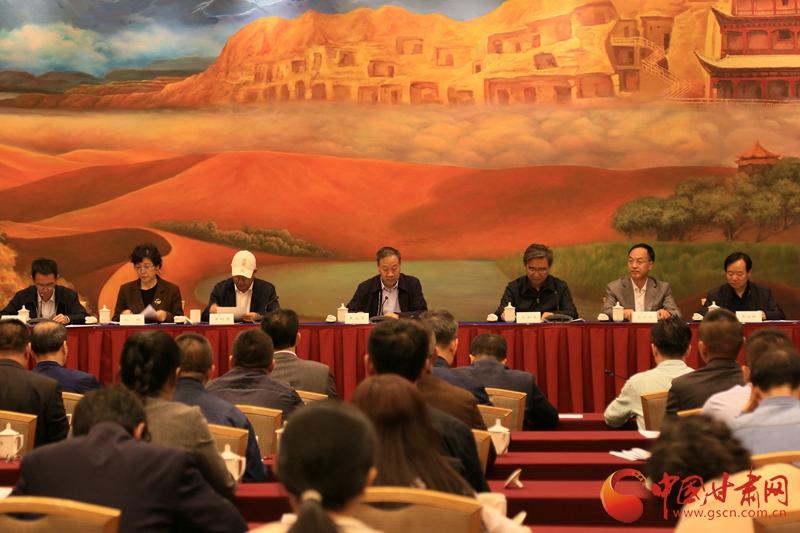 甘肃省哲学社会科学工作暨马院建设推进会在兰举行(图)
