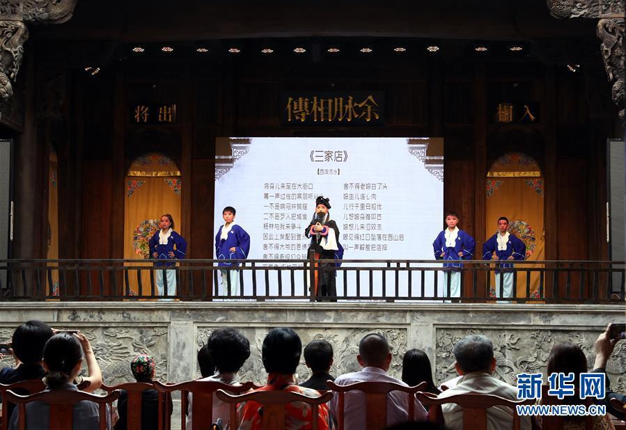 (文化)(2)上海:300年历史古戏楼开幕运营