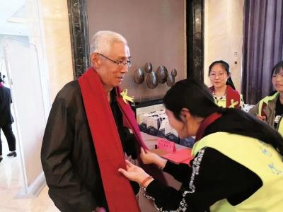 第十届中国(兰州)重阳敬老百叟宴举行