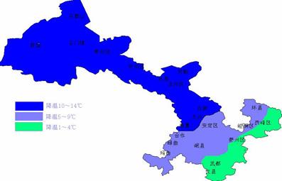 【天气】国庆期间甘肃降水天气较多气温下降明显