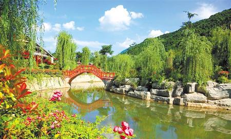 最美花桥景致新——记全省乡村旅游示范村康县花桥村