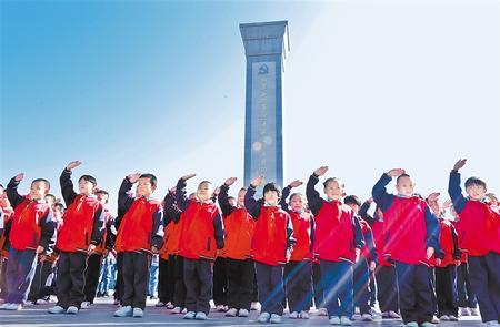 张掖:红色热土 绿色新篇(图)
