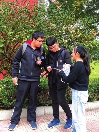 兰大部分学生加入志愿者团队