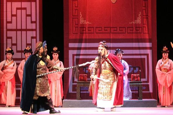 高山戏《米仓魂》在兰上演 讲述陇南大地上的英雄故事