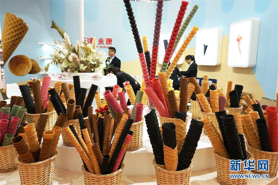 (服务)(1)第22届中国冰淇淋及冷冻食品产业博览会在天津开幕