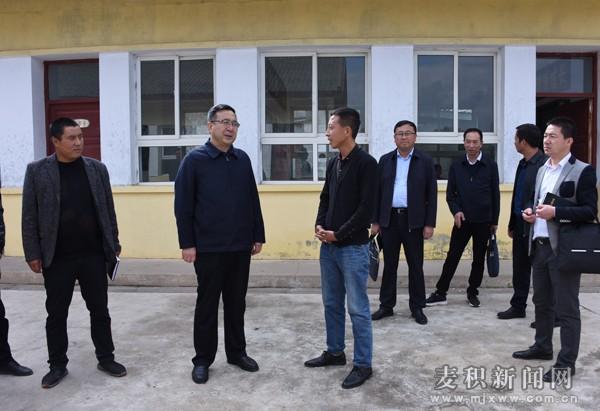 张智明督查调研琥珀镇脱贫攻坚和基层党建工作
