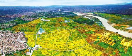 【守护母亲河 建设幸福河——推动黄河流域生态保护和高质量发展系列报道⑩】做水文章,景泰川里别样美