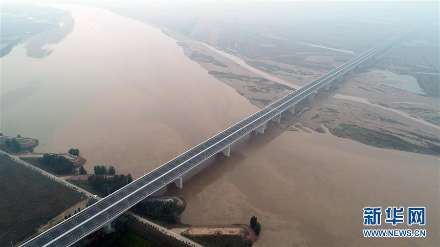 (经济)(2)国道107河南官渡黄河大桥正式通车